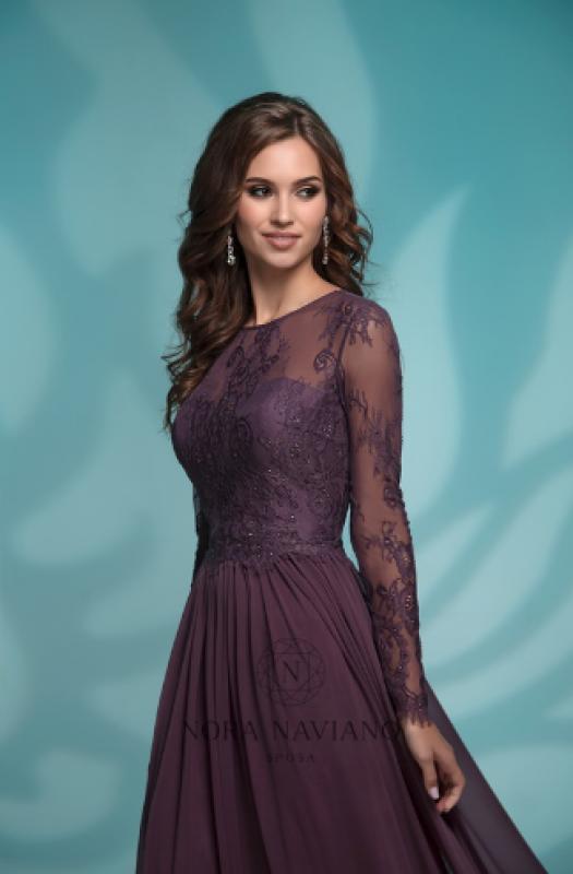 Вечернее платье 72762 PURPLE