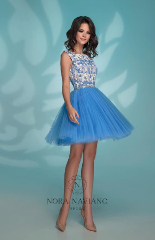 Вечернее платье 72764 BLUE