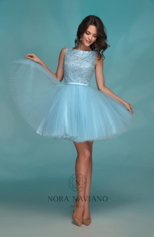 Вечернее платье 72765 LIGHT BLUE