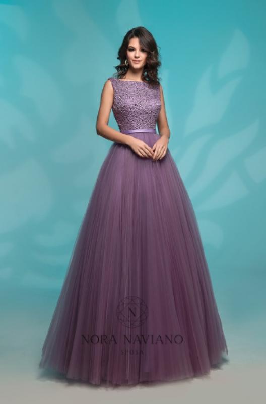 Вечернее платье 72766 DARK PURPLE