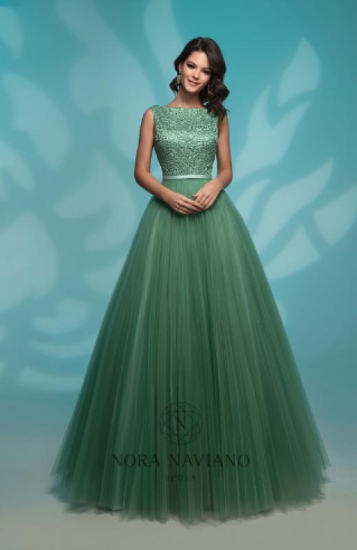 Вечернее платье 72766 GREEN