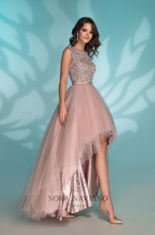 Вечернее платье 72767-1 GREYPI72767 BEIGE