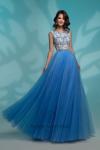 Вечернее платье 72763 BLUE