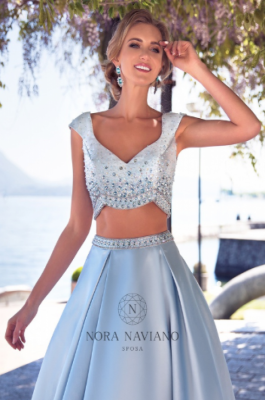 Вечернее платье 31069 LIGHT BLUE