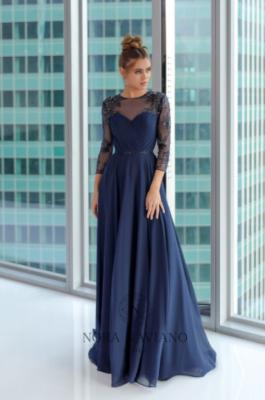 Вечернее платье 31415 NAVY
