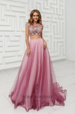 Вечернее платье 31437 FUSHCIA