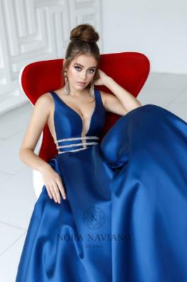 Вечернее платье 31438 NAVY
