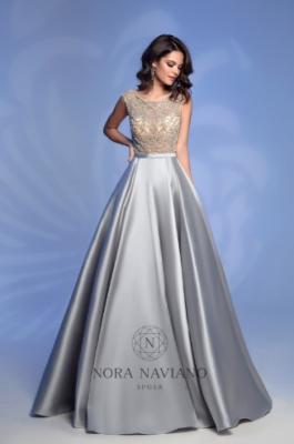 Вечернее платье 32362D GREY