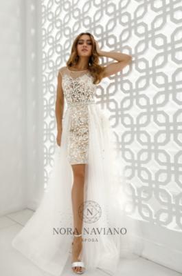 Вечернее платье 32368C IVORY