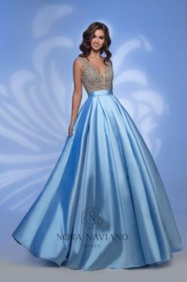 Вечернее платье 32382 BLUE