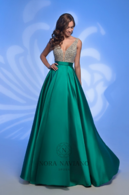 Вечернее платье 32382 GREEN
