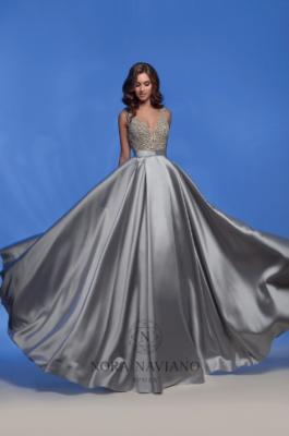Вечернее платье 32382 GREY