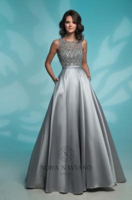 Вечернее платье 8142 GREY