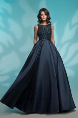 Вечернее платье 8142 NAVY