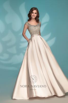 Вечернее платье 8176 GOLD