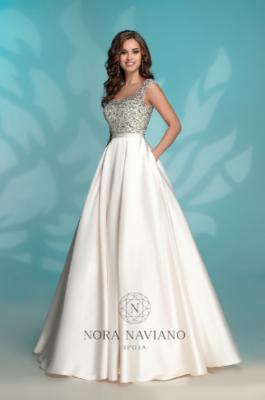 Вечернее платье 8176 IVORY