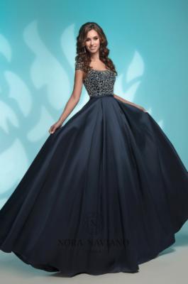 Вечернее платье 8176 NAVY